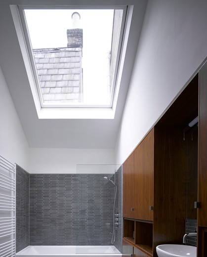 Bisham Gardens  London  Moxon Architects  -Bathroom : Stock Photo