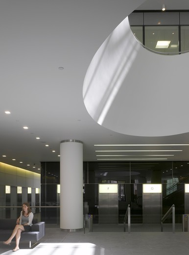20 Gracechurch Street Orms Architecture Design  Rear Reception : Stock Photo