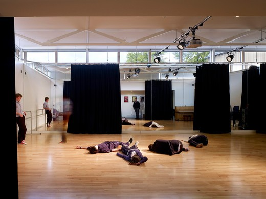 Stock Photo: 1801-68289 Dance Studio  King'S School Ely  By Orms Architecture Design