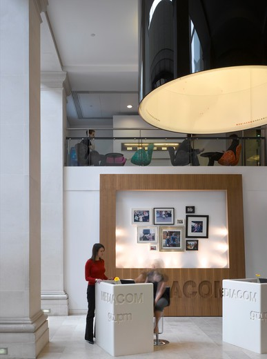 Stock Photo: 1801-68310 Mediacom  Orms Architecture Design  Main Reception