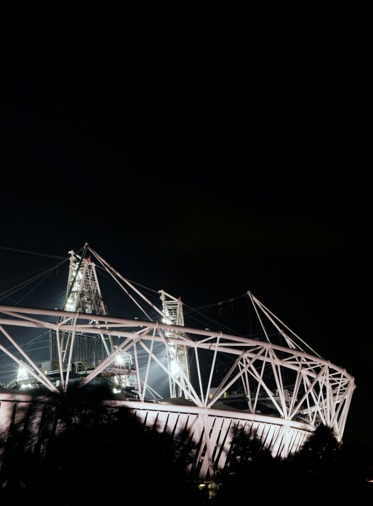 Stock Photo: 1801-73803 Olympic Stadium, London Olympics 2012, Stadium, Europe, United Kingdom,2012, Populous . Exterior.