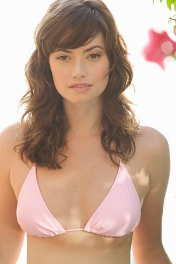 Stock Photo: 1804R-4687 A woman in a bikini