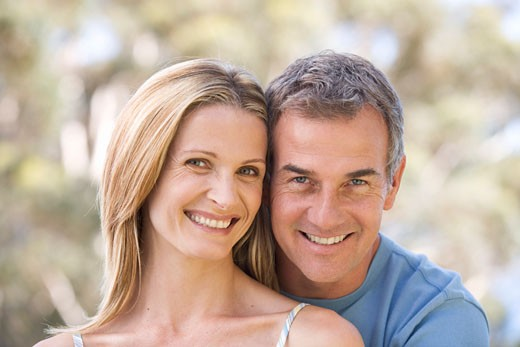 Stock Photo: 1804R-6224 Portrait of a couple