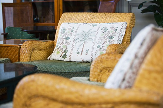 Stock Photo: 1806R-3402 Wicker Patio Furniture