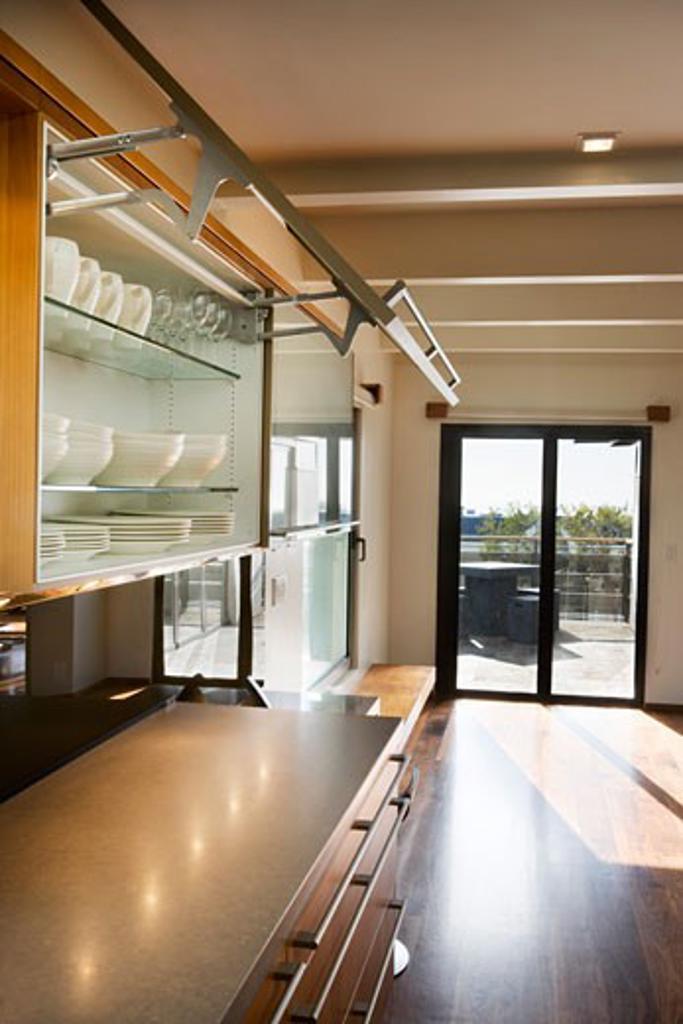 Stock Photo: 1806R-5400 Modern Kitchen Cupboards
