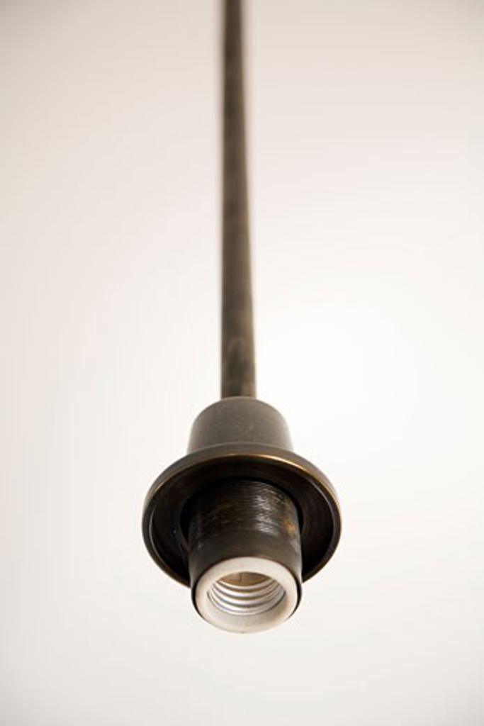 Empty Light Fixture : Stock Photo
