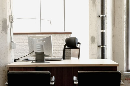 Stock Photo: 1806R-7252 Detail of an empty office