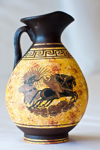Stock Photo: 1807-385 Ancient Greek vase, Athens, Greece