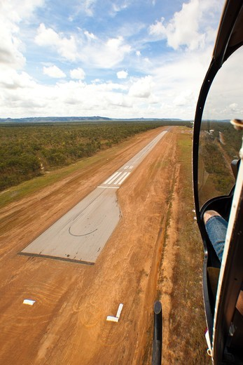 Stock Photo: 1807-388 Helicopter ride, Australia
