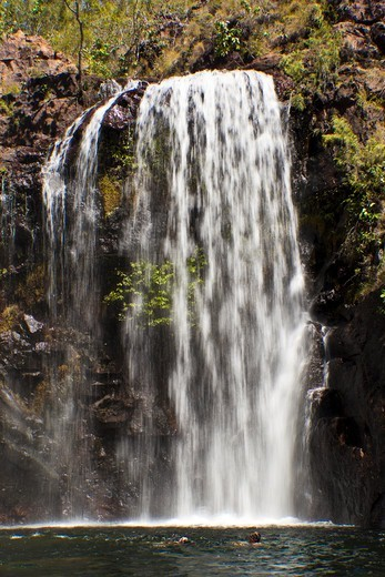 Waterfall, Florence Falls, Litchfield National Park, Northern Territory, Australia : Stock Photo