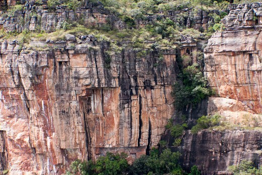 Rock formations, Kakadu National Park, Northern Territory, Australia : Stock Photo