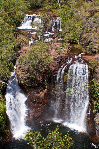 Australia, Northern Territory, Lichfield National Park, Florence Falls : Stock Photo