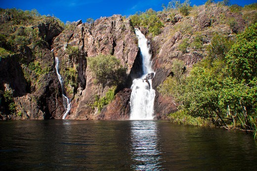 Stock Photo: 1807-422 Australia, Kakadu National Park, Waterfall