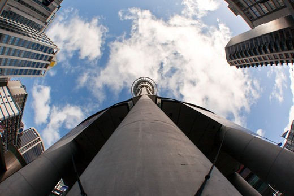 New Zealand, Auckland, Skycity tower : Stock Photo