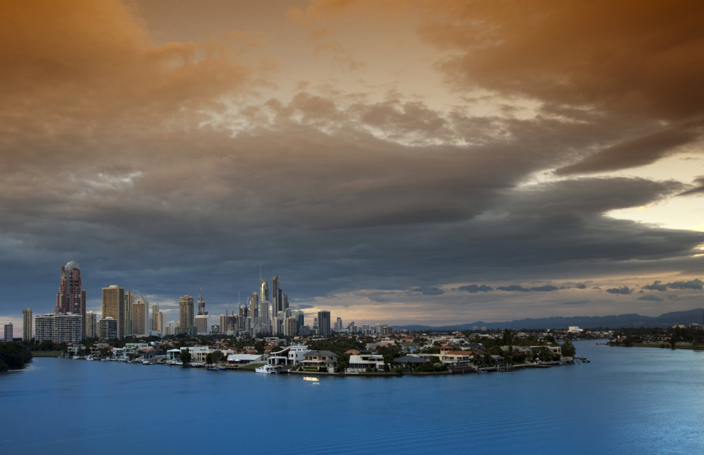 Stock Photo: 1807R-352 Surfers Paradise, Gold Coast Australia
