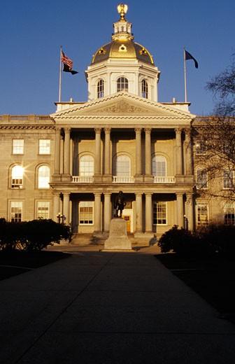 Concord, New Hampshire USA : Stock Photo
