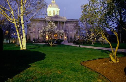 Stock Photo: 1809-1108 Concord, New Hampshire USA