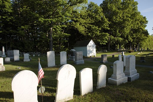 New England Graveyard : Stock Photo