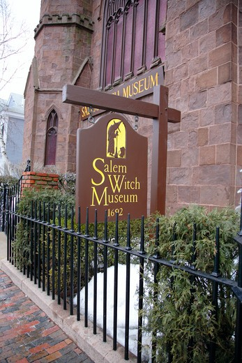 Salem Witch Museum in Salem, Massachusetts USA which is part of New England : Stock Photo