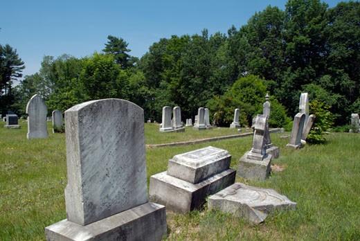 Graveyards : Stock Photo