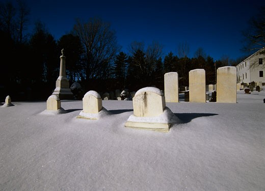 Stock Photo: 1809-1962 Graveyards