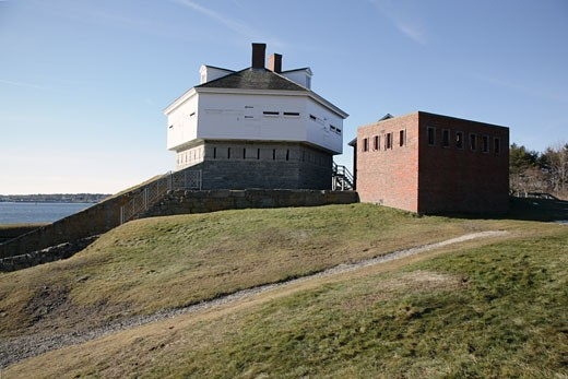 Fort McClary State Historic Site : Stock Photo
