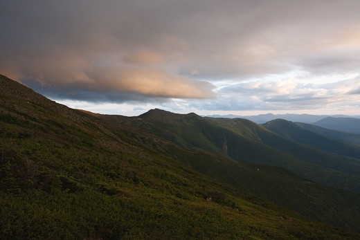 Presidential Range from the Jewell Trail in the White Mountains, New Hampshire USA : Stock Photo