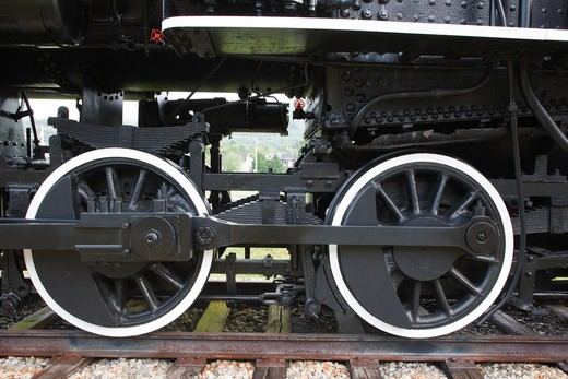 Stock Photo: 1809-9446 Grand Trunk Railroad Museum in Gorham, New Hampshire USA