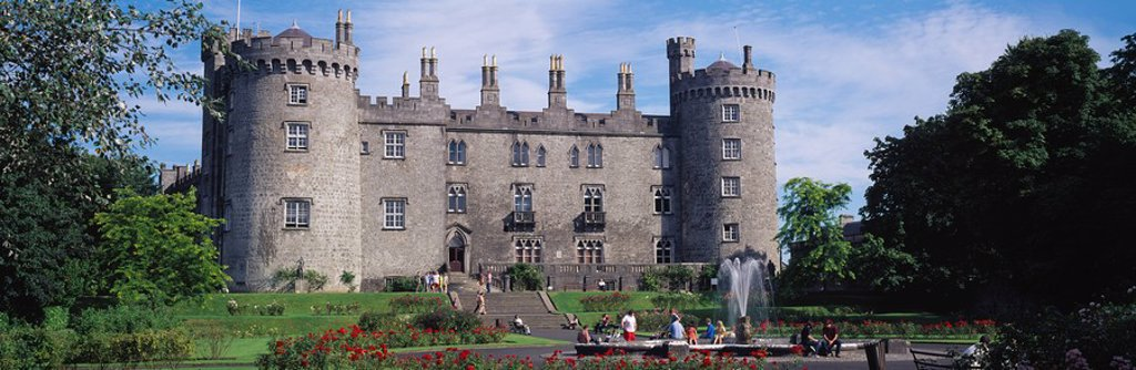 Stock Photo: 1812-10281 Co Kilkenny, Kilkenny Castle