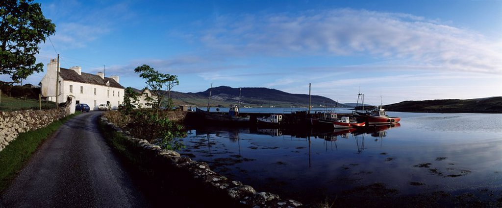 Stock Photo: 1812-10288 Co Mayo, Achill Sound