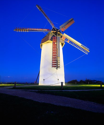 Stock Photo: 1812-1048 Skerries Mills Co Fingal, Ireland