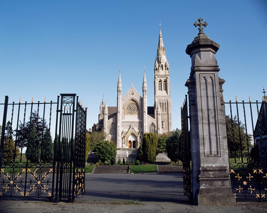 Stock Photo: 1812-10742 St. Macartan´s Cathedral,Monaghan,Co Monaghan,Ireland,The cathedral was constructed by JJ McCarthy between 1861 and 1891