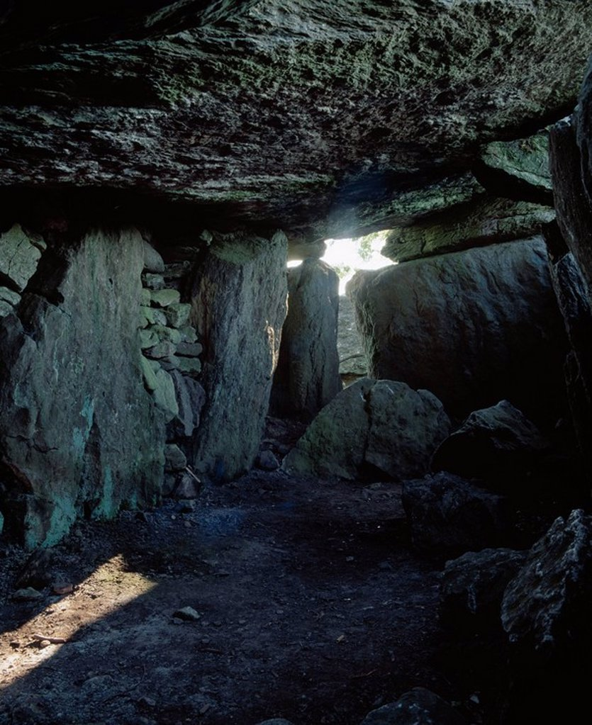 Stock Photo: 1812-10754 Glanworth,Co Cork,Ireland,Labbacallee wedge tomb