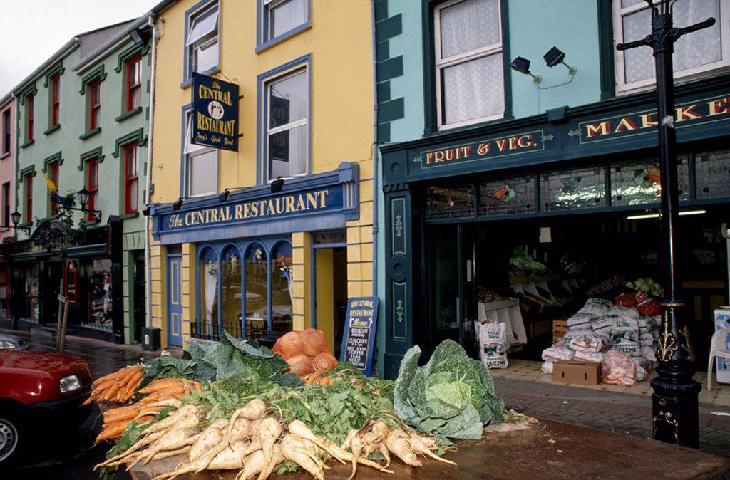 Co Clare, Kilrush : Stock Photo