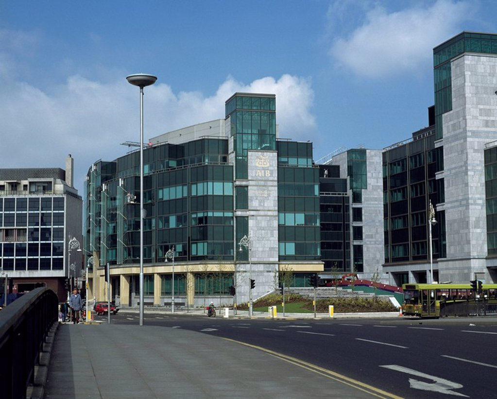 International Financial Services Centre, Dublin City, County Dublin, Ireland : Stock Photo
