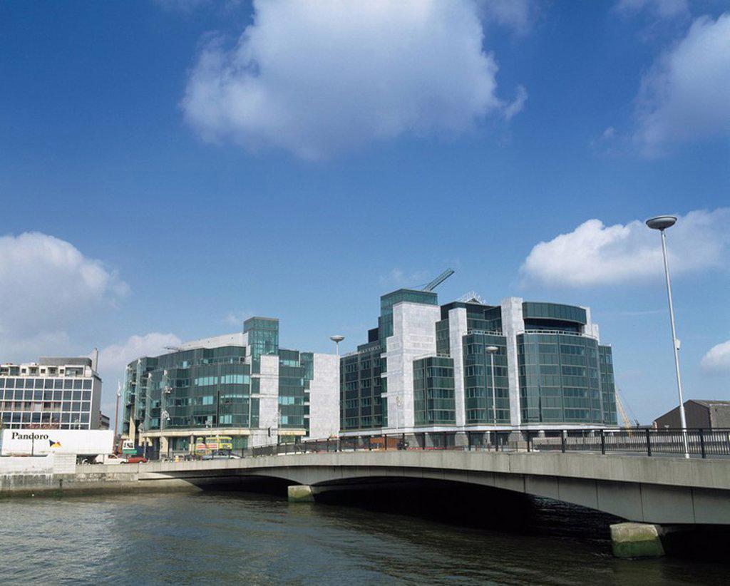 Stock Photo: 1812-11057 International Financial Services Centre, Dublin City, County Dublin, Ireland