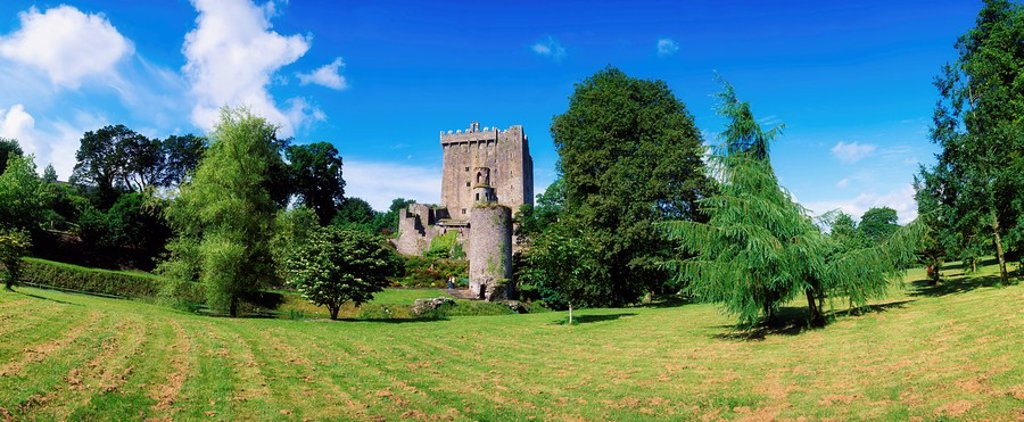 Stock Photo: 1812-11412 Blarney Castle, Co Cork, Ireland