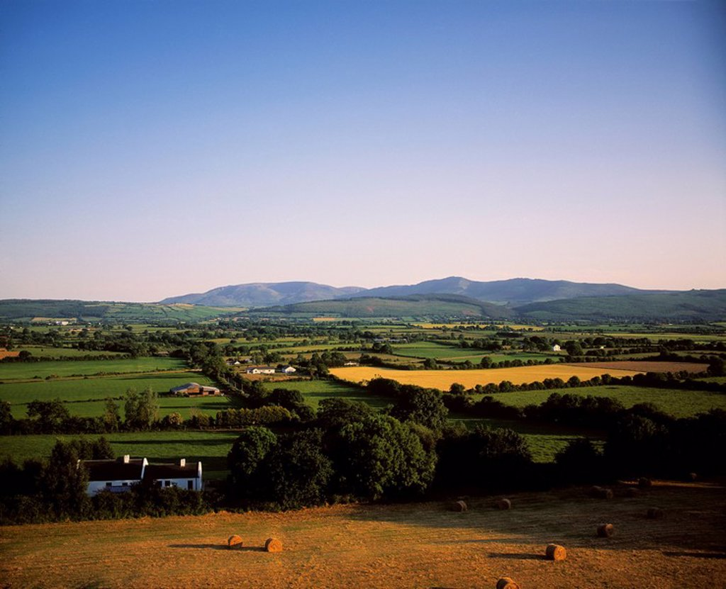 Landscape In Kilcash, County Tipperary, Republic Of Ireland : Stock Photo