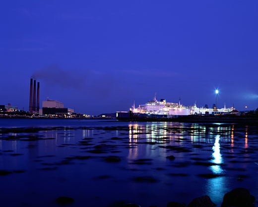 Stock Photo: 1812-1159 Port of Larne, Co. Antrim, Ireland