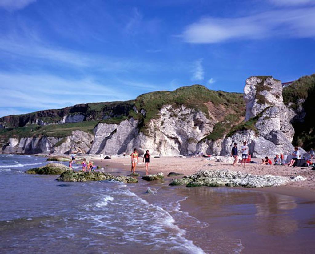 White Rocks, Co. Antrim, Ireland : Stock Photo
