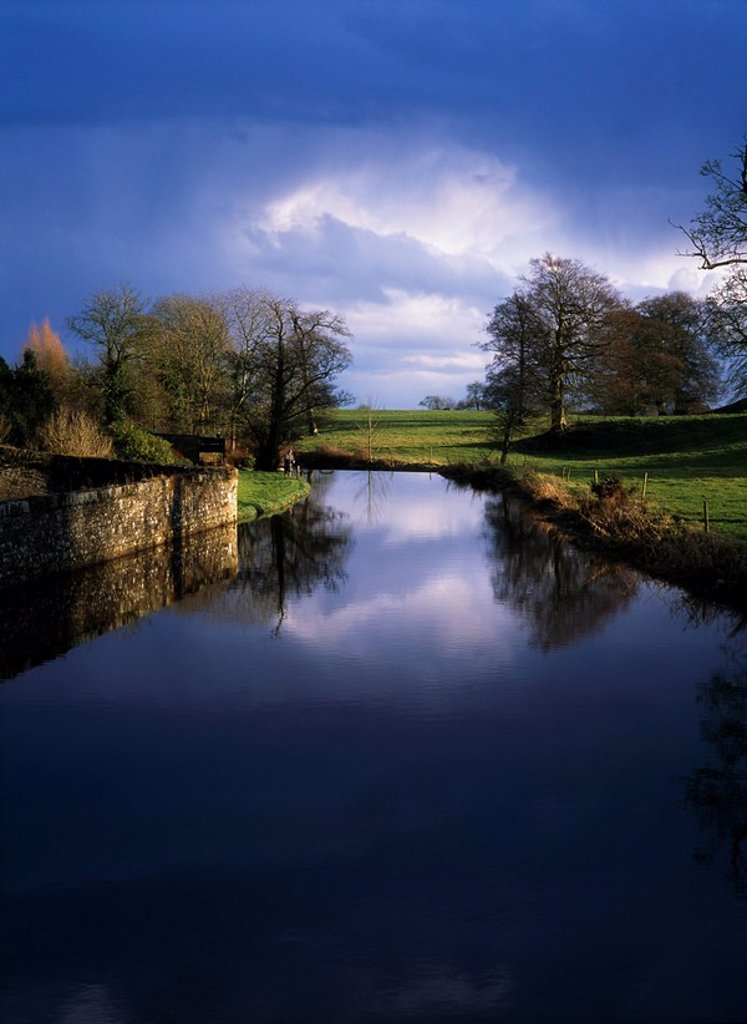 Moynalty River, Moynalty, Co Meath, Ireland : Stock Photo
