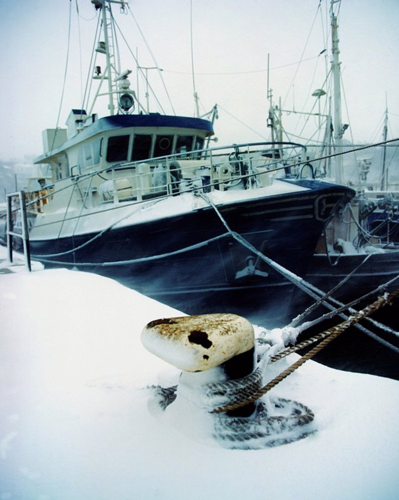 Stock Photo: 1812-12515 Fishing Trawler, Howth Harbour, Co Dublin, Ireland