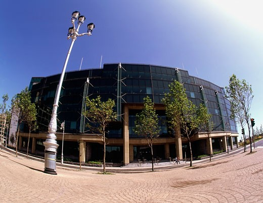 Stock Photo: 1812-1527 International Financial Services Centre (IFSC), Dublin, Ireland