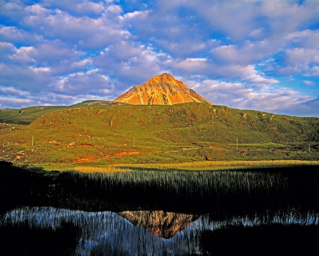 Mount Errigal, Co Donegal, Ireland : Stock Photo