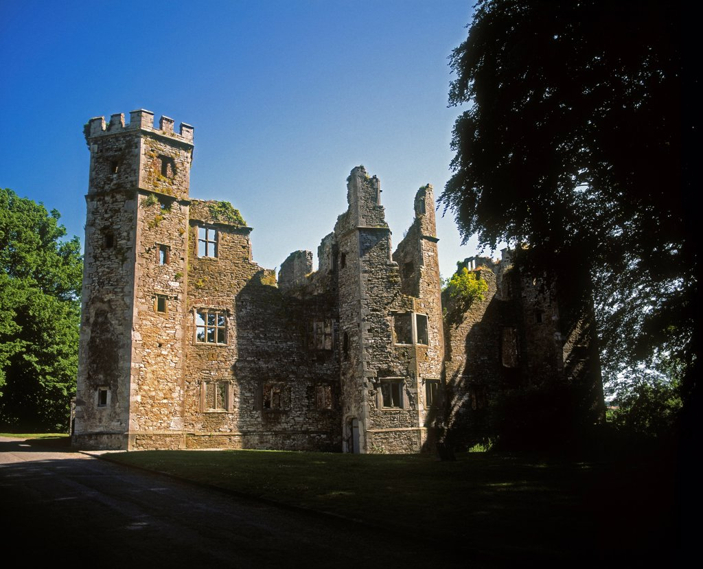 Mallow Castle, Built 1590, County Cork, Ireland : Stock Photo