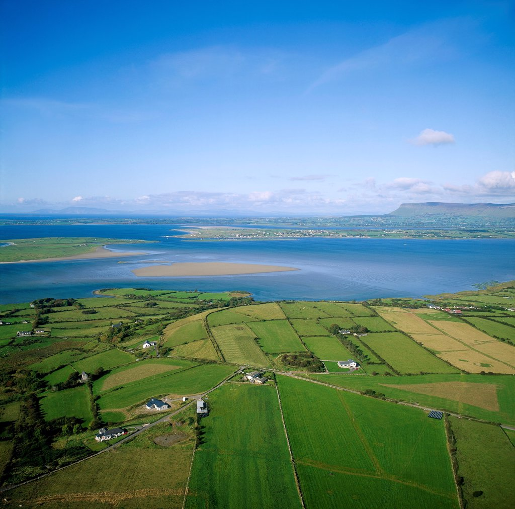 Stock Photo: 1812-15738 Rosses Point, Ben Bulben, Co Sligo, Ireland.