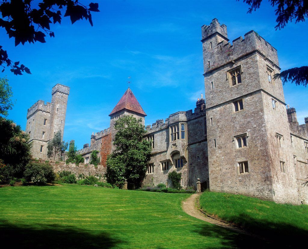 Pleasure Grounds, Lismore Castle, Co Waterford, Ireland : Stock Photo
