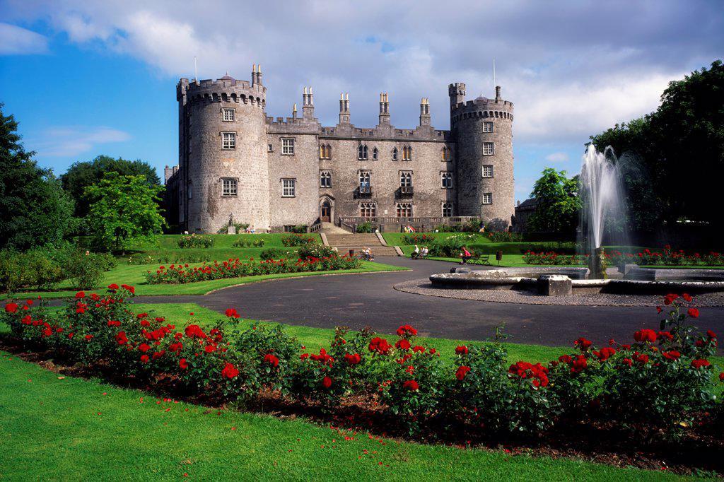 Stock Photo: 1812-15976 Kilkenny Castle, City Of Kilkenny, Co Kilkenny, Ireland