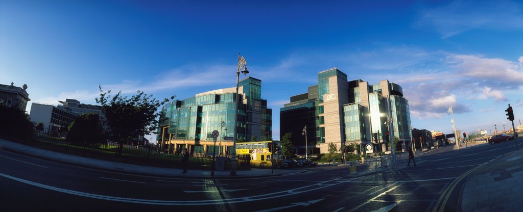 Stock Photo: 1812-16122 Dublin City, Irish Financial Services, Centre