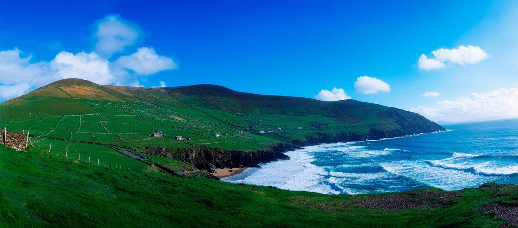 Slea Head, Dingle Peninsula, Co Kerry, Ireland : Stock Photo